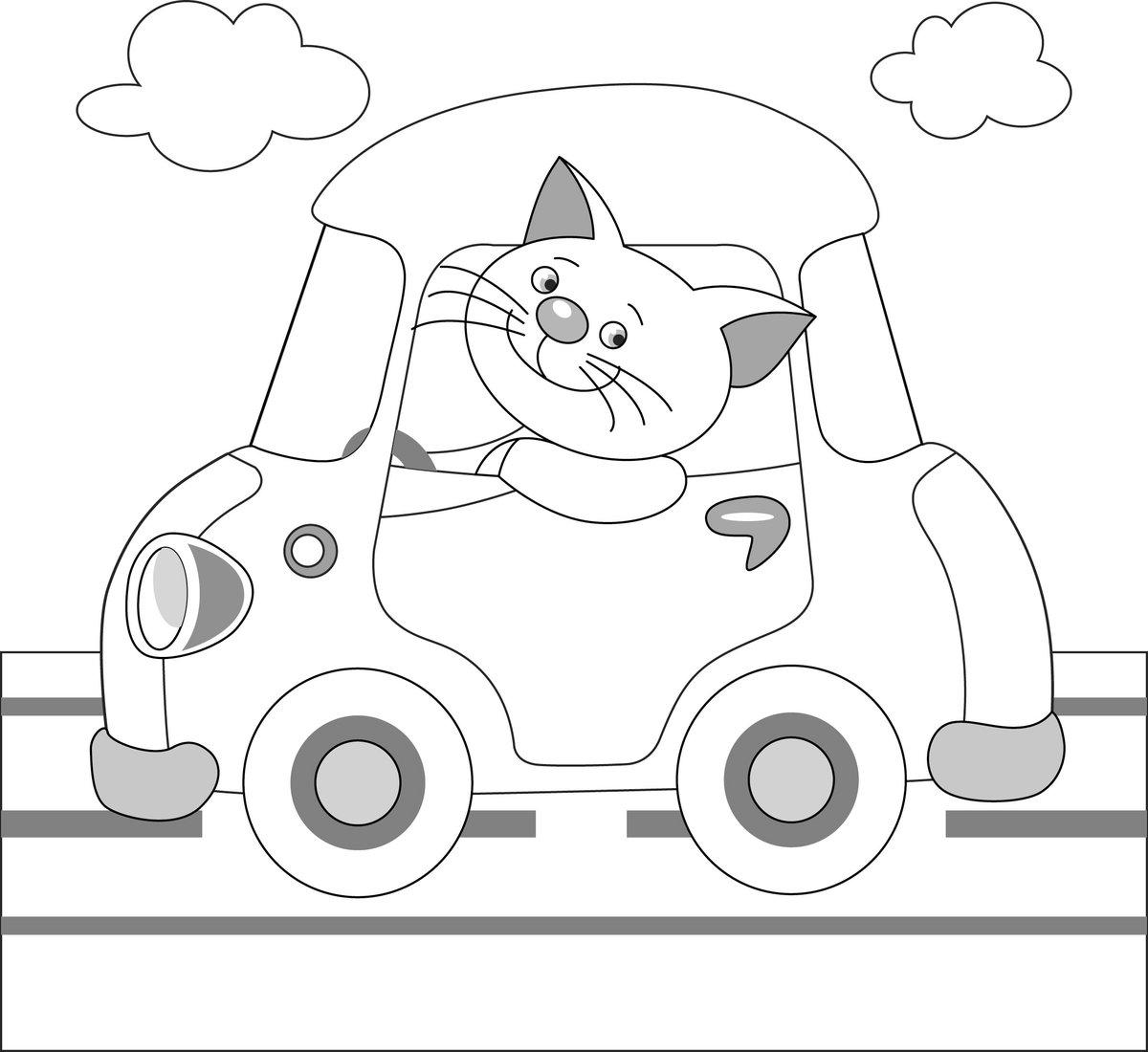 одной картинки для рисования детям распечатать машины для малышей подойдет для детей