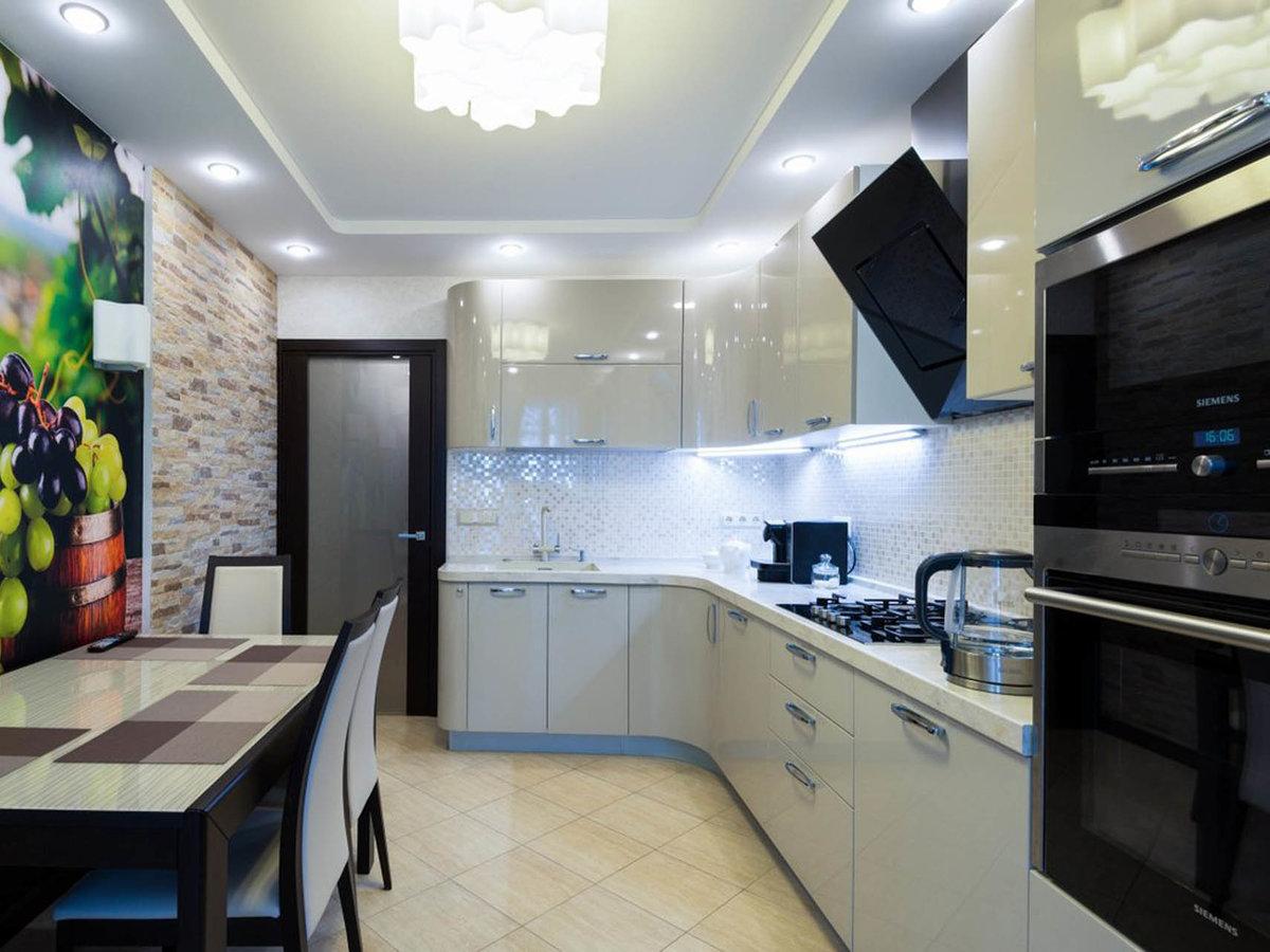ремонт кухни дизайн фото реальные