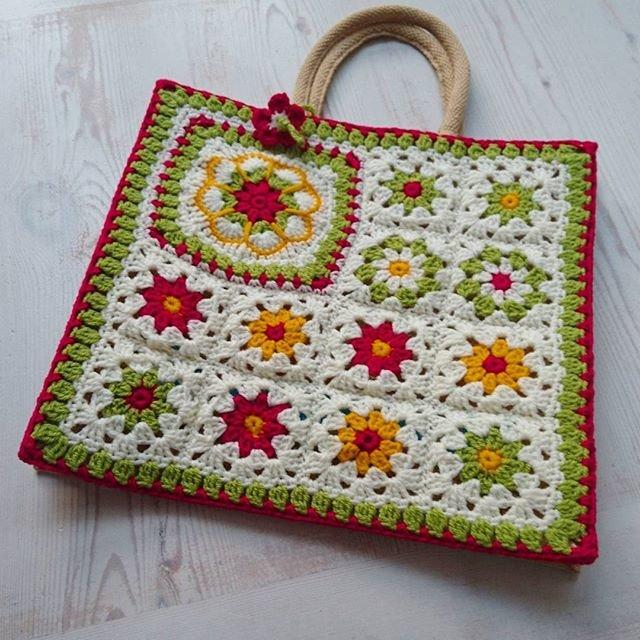 Bag Folklore Crocheting Crochet Folklore Haken Handmade Haken