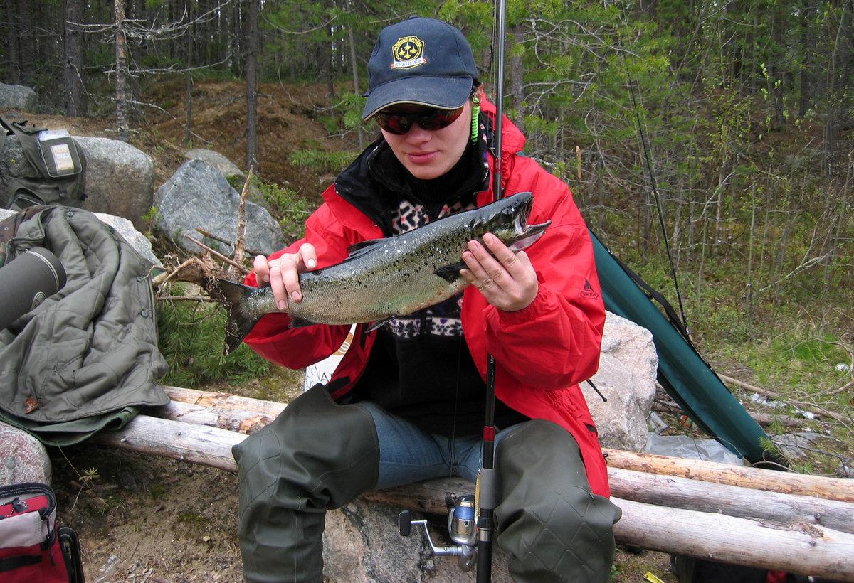 Рыбалка в калевала карелия