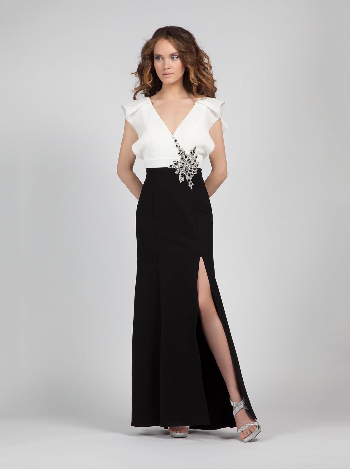 вечерние платья классика фото