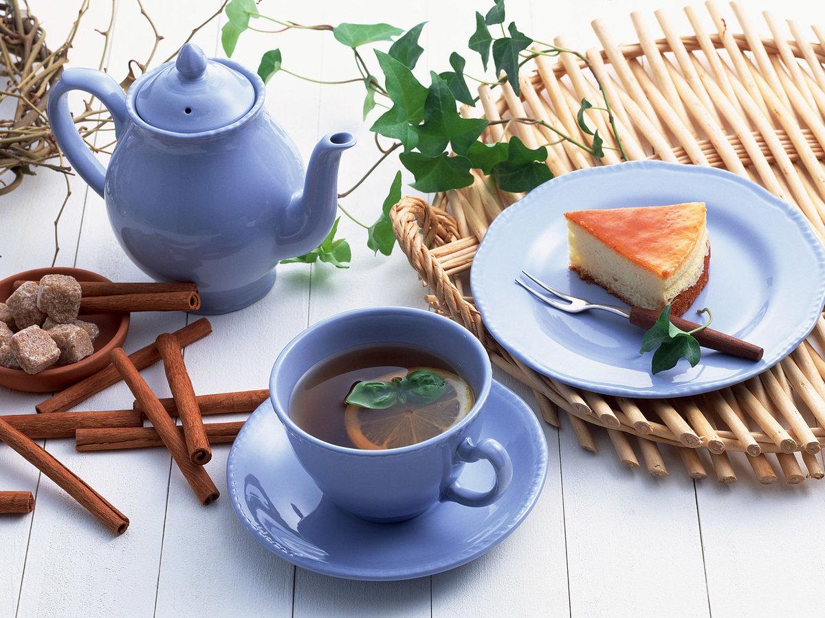 Открытки утренний чай доброе утро