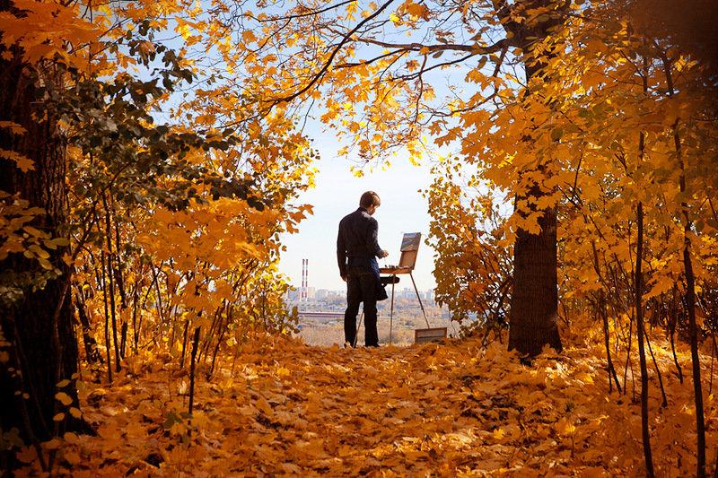 группы картинка парень в парке осень разберемся, какие сомнения