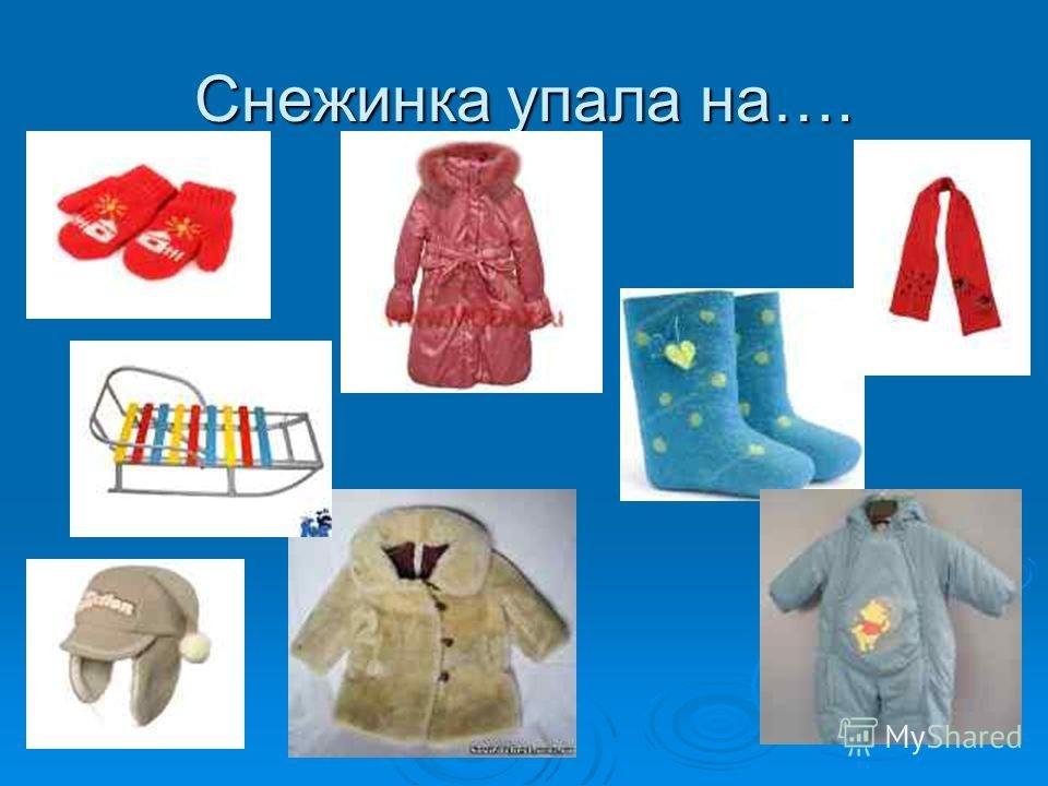 картинки зимняя одежда для доу идет государственной