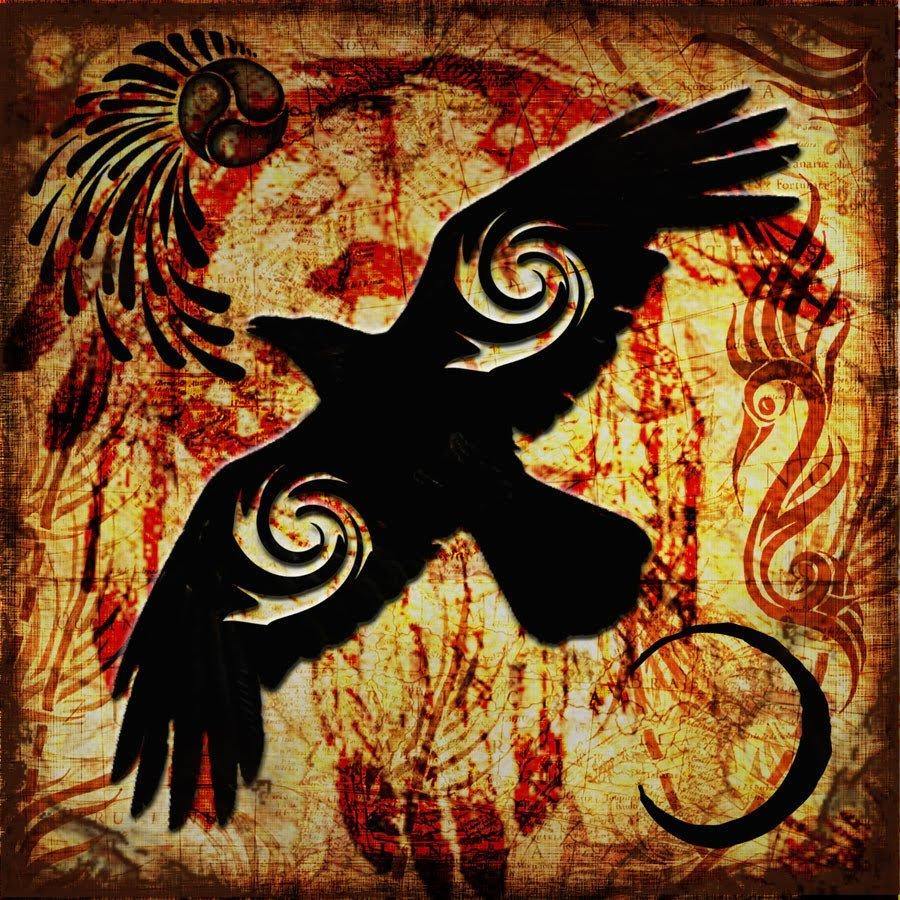 Славянские картинки ворона