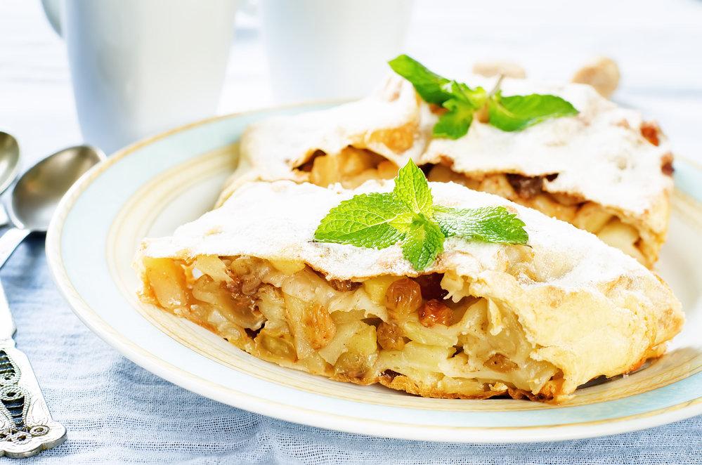 талантливый венский яблочный штрудель рецепт с фото курицы можно