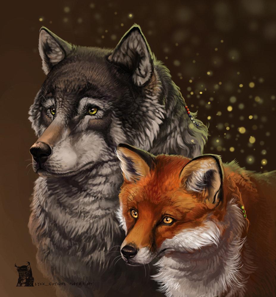 Волк и лиса картинки прикольные, марта