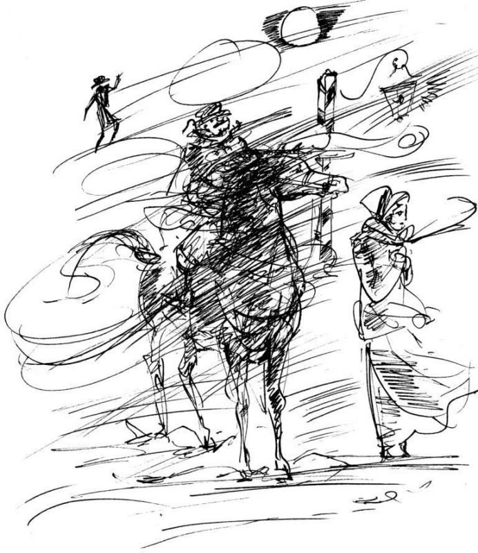 Пушкина метель картинки