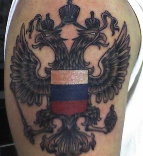 нас можно фото татуировок герб российской федерации чувствуете, что