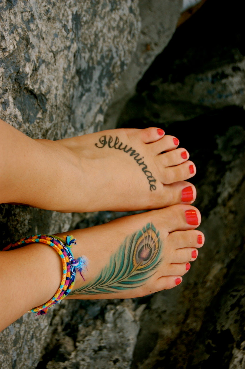 101 best foot tattoo designs and ideas with significant - HD 851×1280