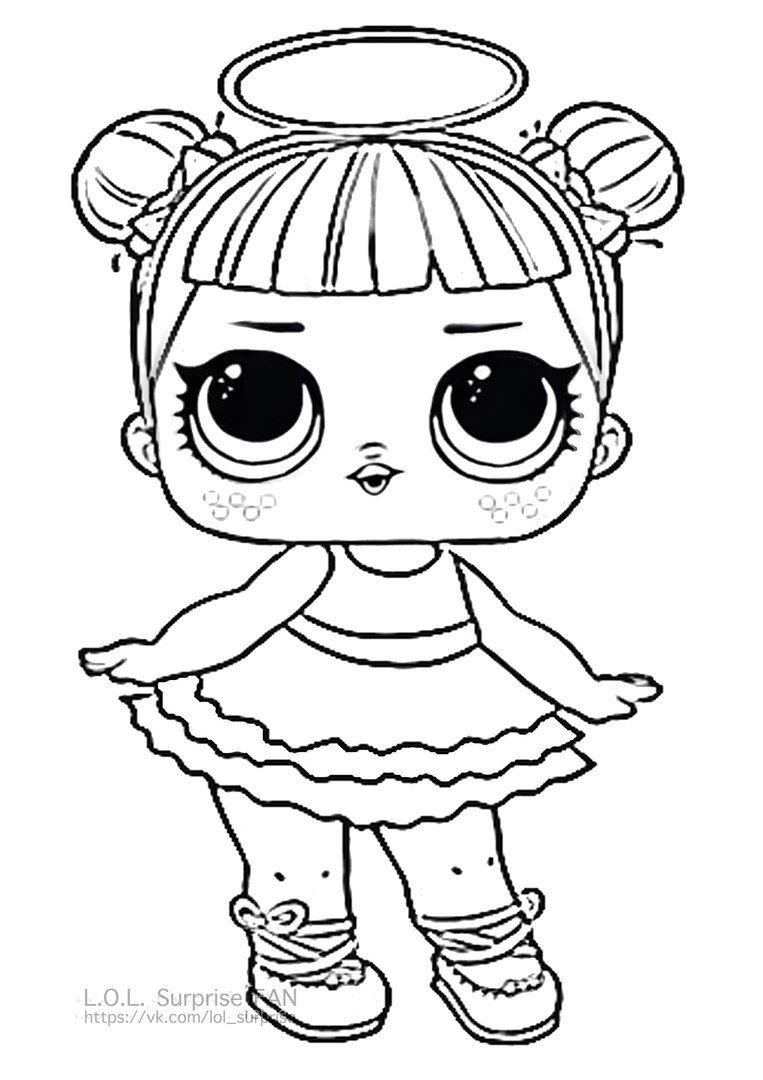 quot Sugar Color Sheet LOL Surprise Doll Coloring Pages