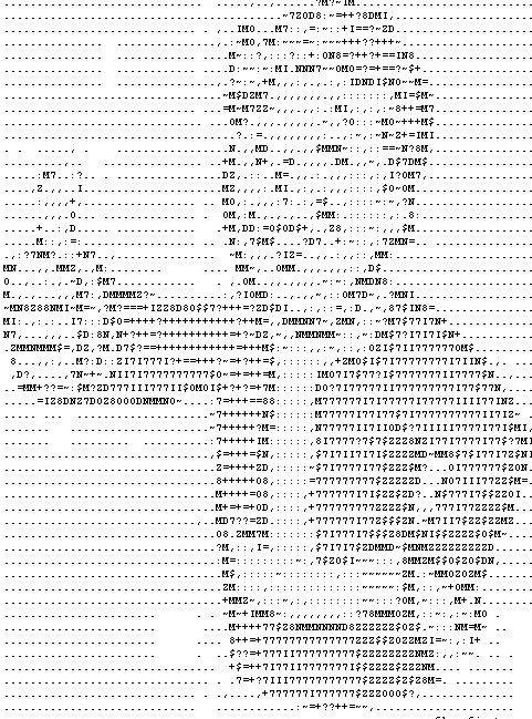 рисунки из символов на клавиатуре котики