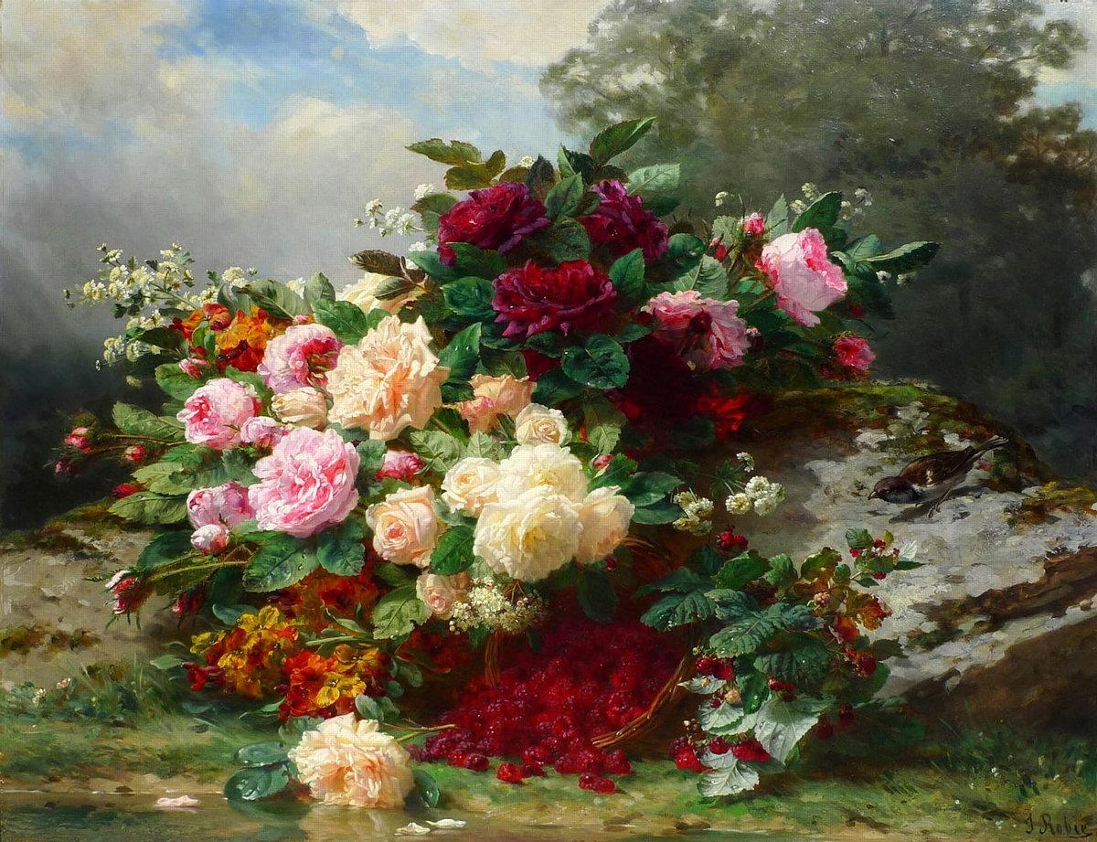 Цветы и букеты м. федотов и г. валюшкина