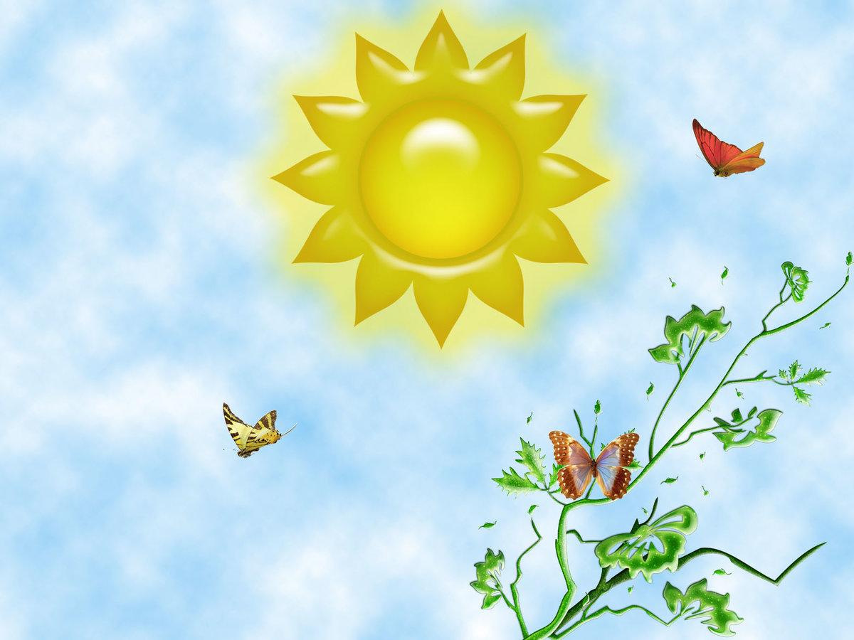 Детская, картинки солнечная погода для детей