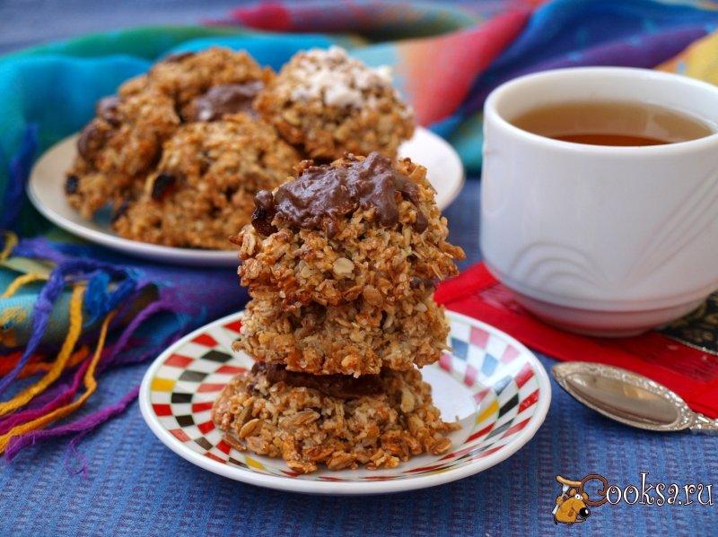 печенье с изюмом рецепт с фото пошагово простой рецепт