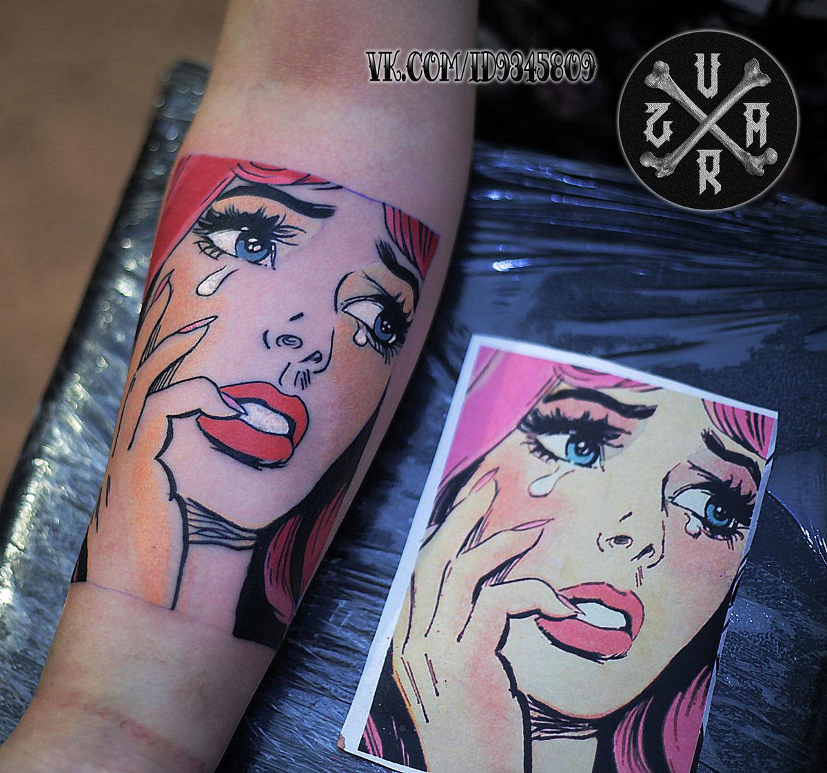 pop art tattoo tumblr - 742×579