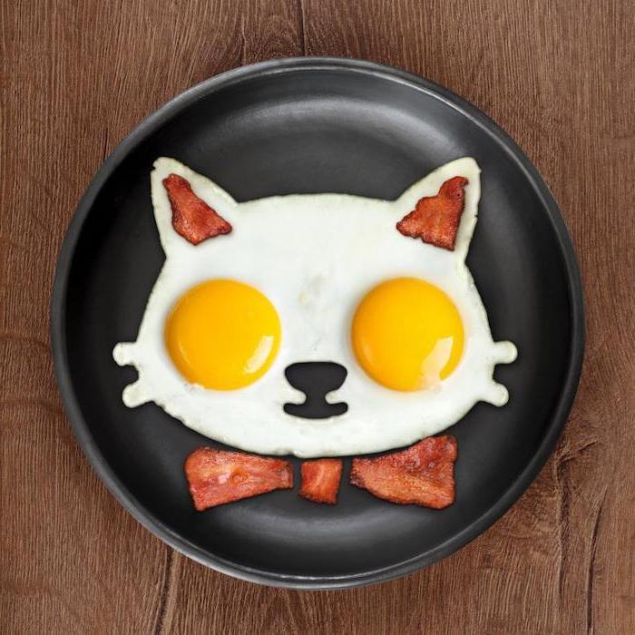 Картинка смешная завтрак