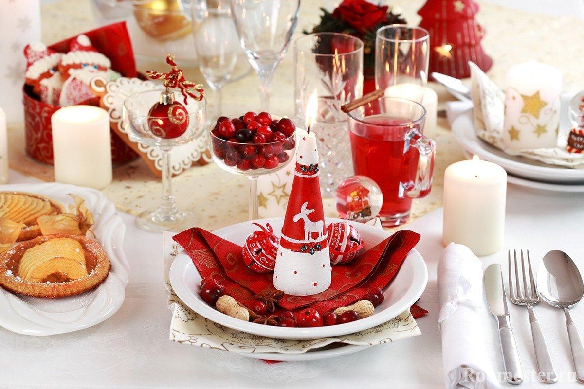 Приглашение, картинки красивый стол новый год