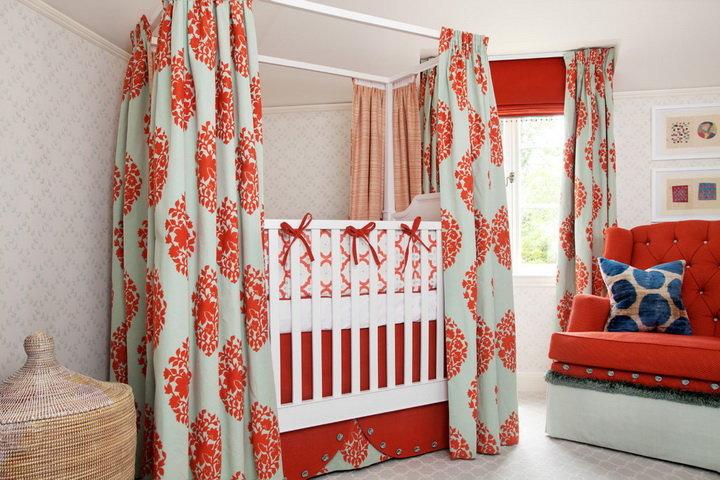 Декор детских кроваток 77