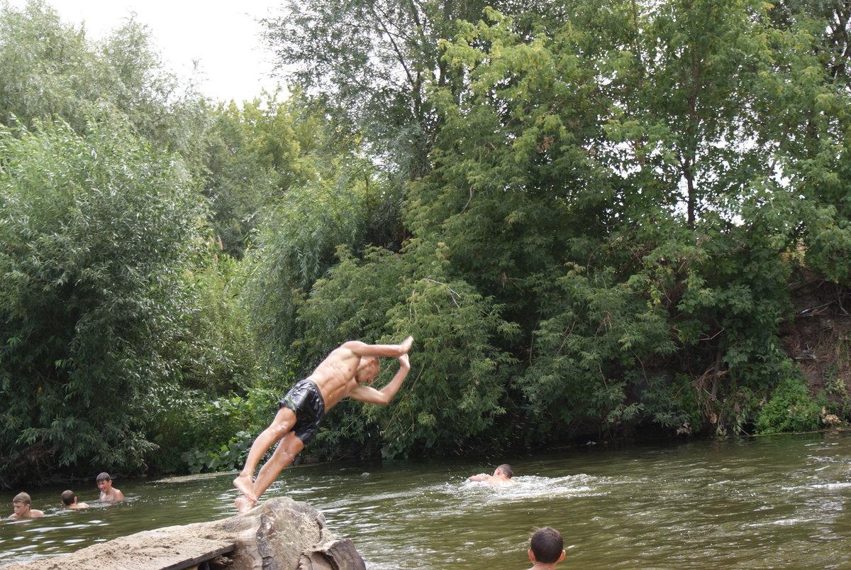 прыжки в речку картинки блуа как добраться