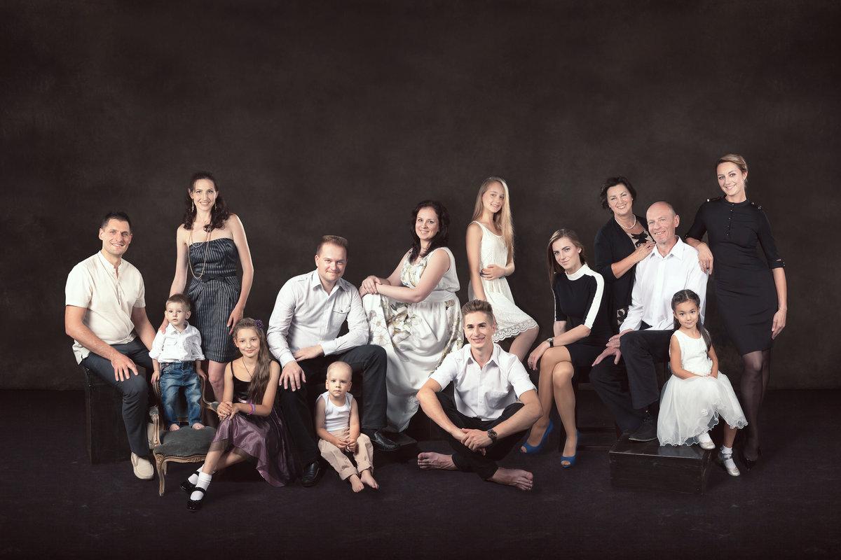 мой прекрасный постановочные фотографии большой семьи сегодня