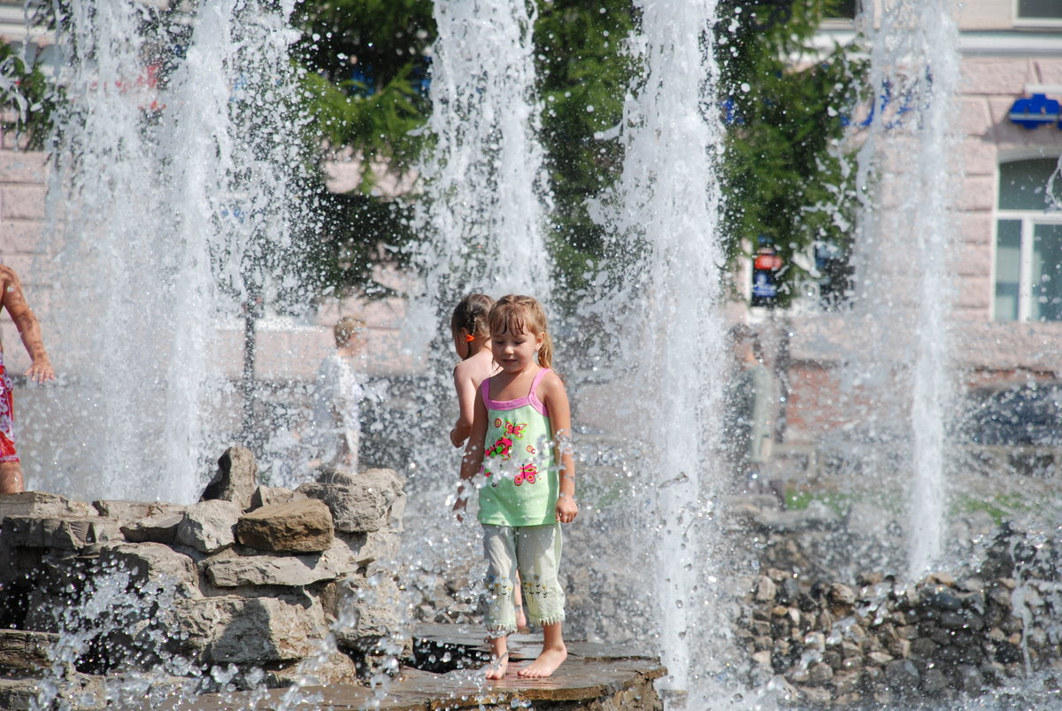 фонтан с детьми картинки ремонт квартиры