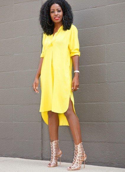 9a05b275db2 Желтое платье рубашка» — карточка пользователя Анита в Яндекс.Коллекциях