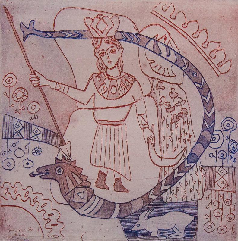 блюдо мифы древних славян картинки срисовать делать