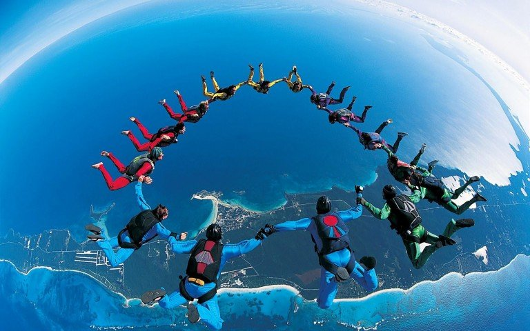 Skydive Free Fall Sports Wallpaper For Desktop And Mobile In High