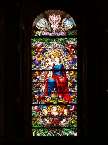 собор святой марии витражи