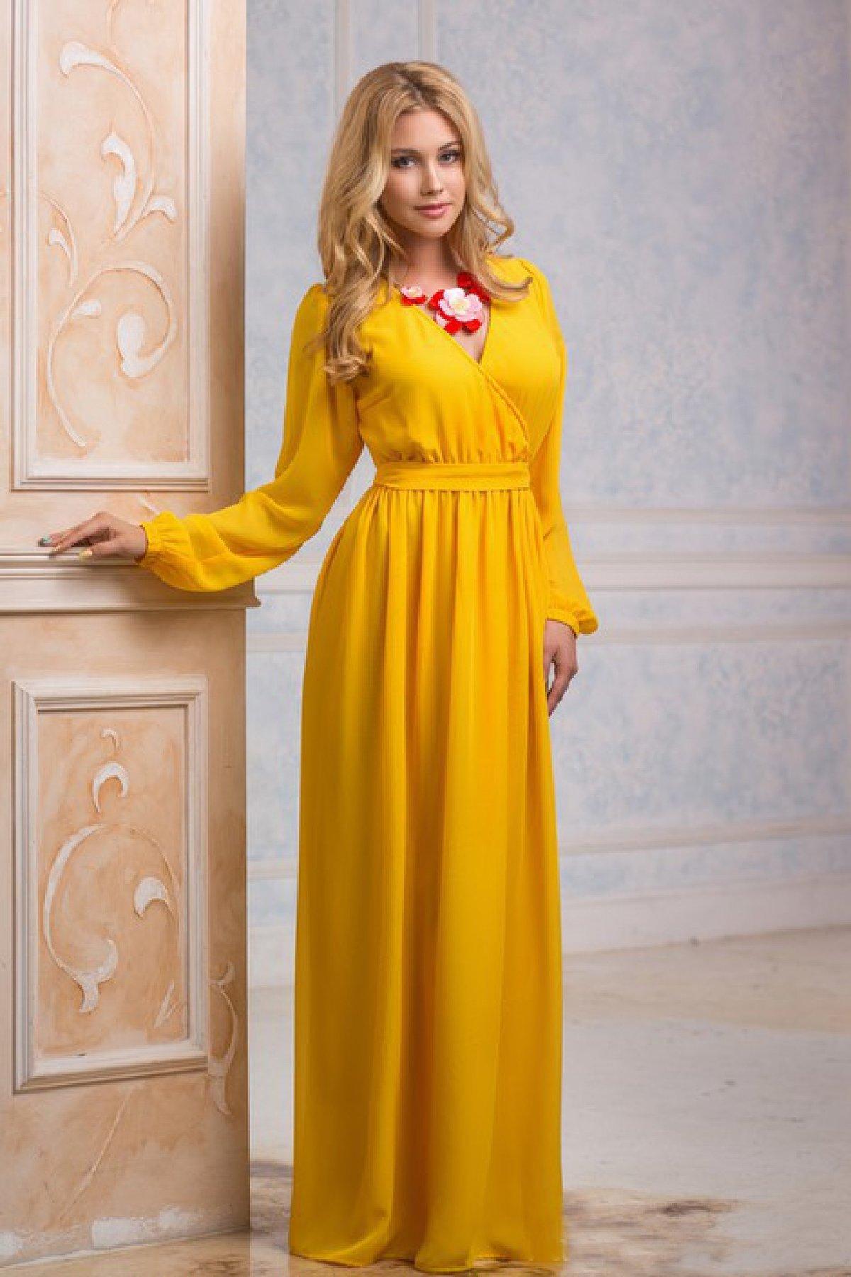 Платье из шифона с рукавом своими руками фото 394