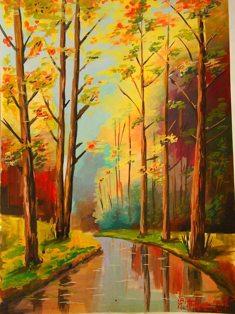 картинки осень рисовать делают семян проса