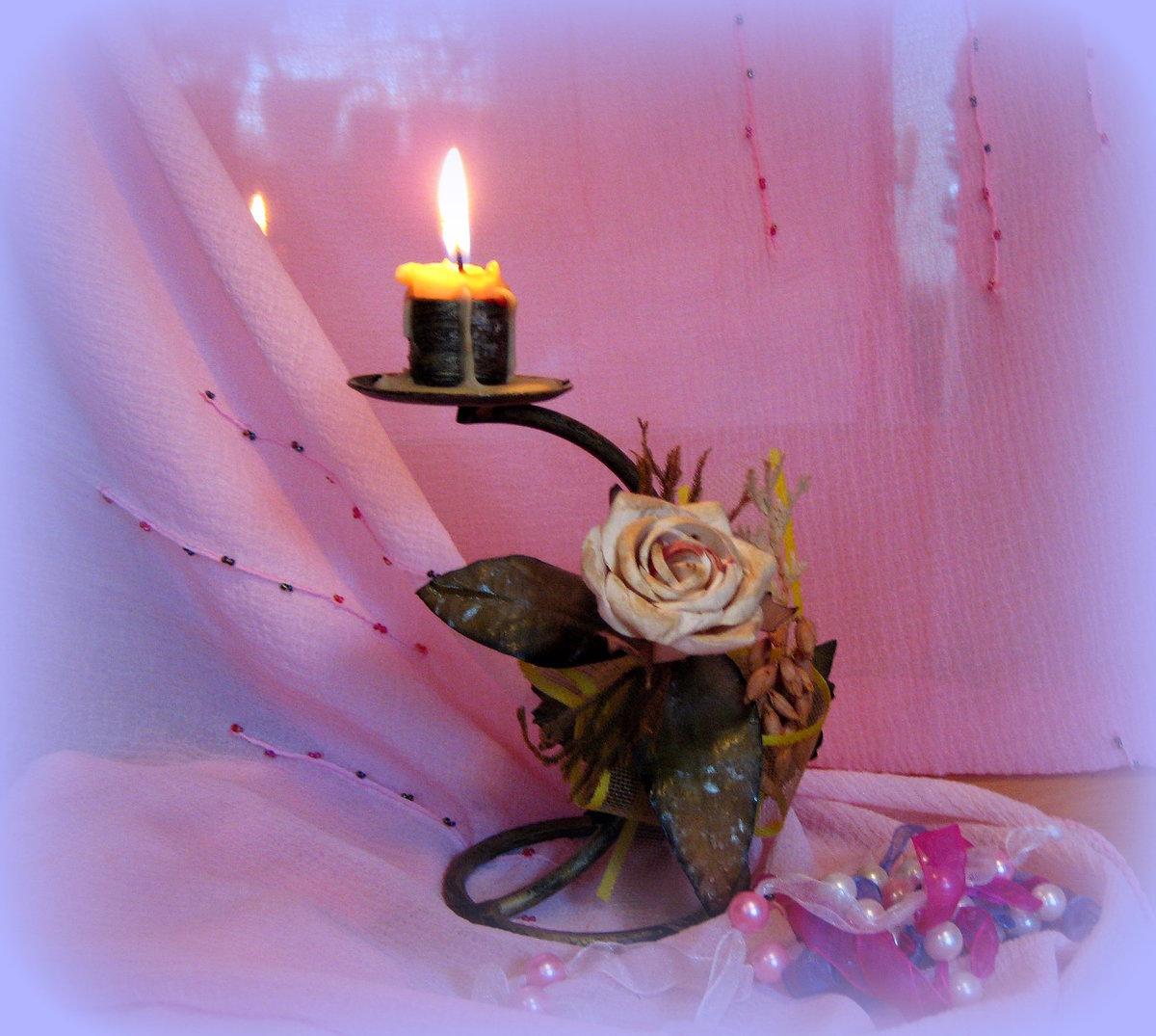 Свечи горят открытки, для открытки день