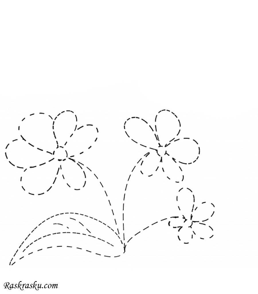 «раскраска по точкам цветы» — карточка пользователя ...