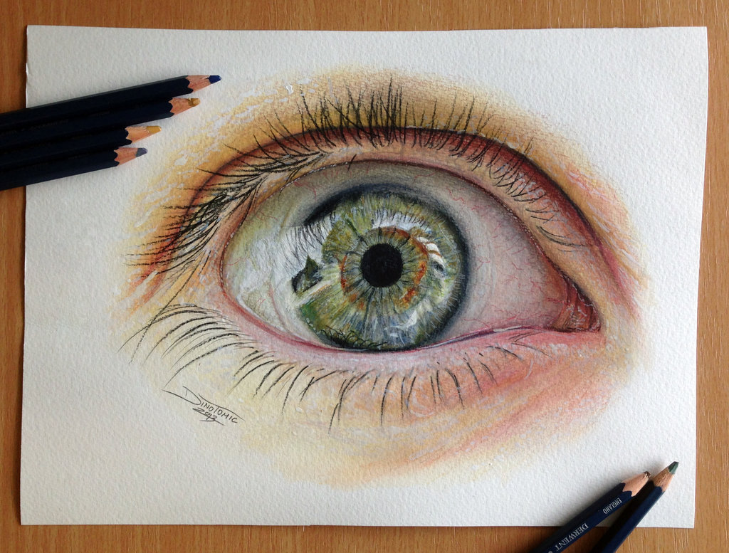 лучшие картинки цветным карандашом