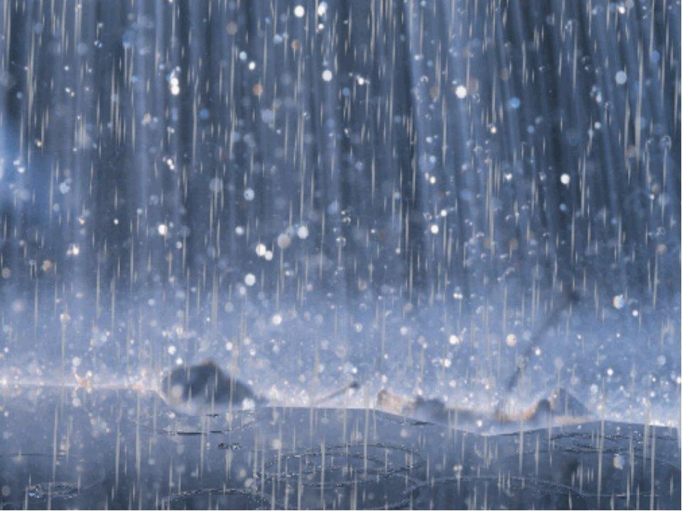 Картинки живые дождь