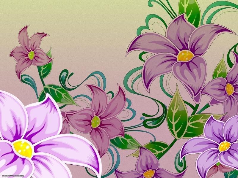 Открытку, цветные картинки с цветами