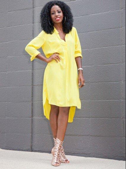 a602027ea35 35 карточек в коллекции «Платье-рубашка. Цвет жёлтый.» пользователя ...