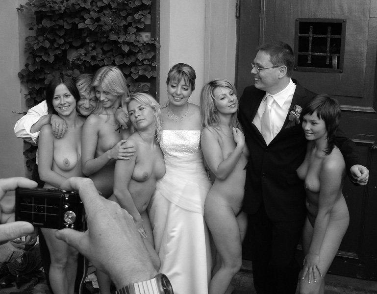 обнаженка на свадьбе