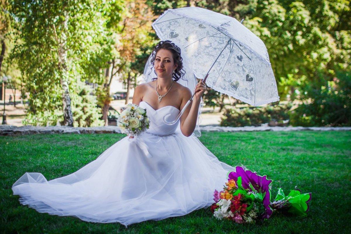 зонт для свадебной фотосессии желание пропадает