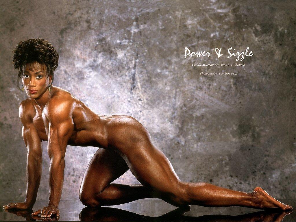 Naked black women athlete — img 12