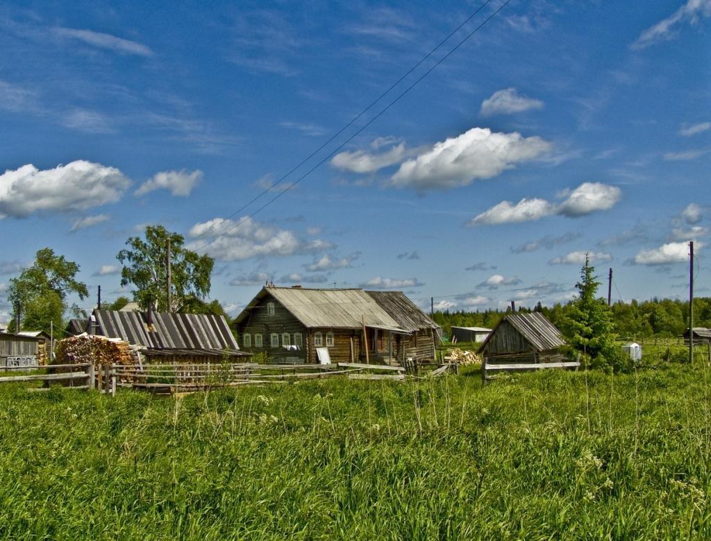 Картинки русской деревни в наше время