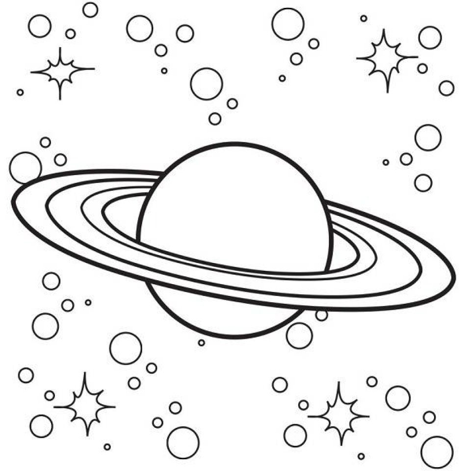 solar system coloring pages - 768×768