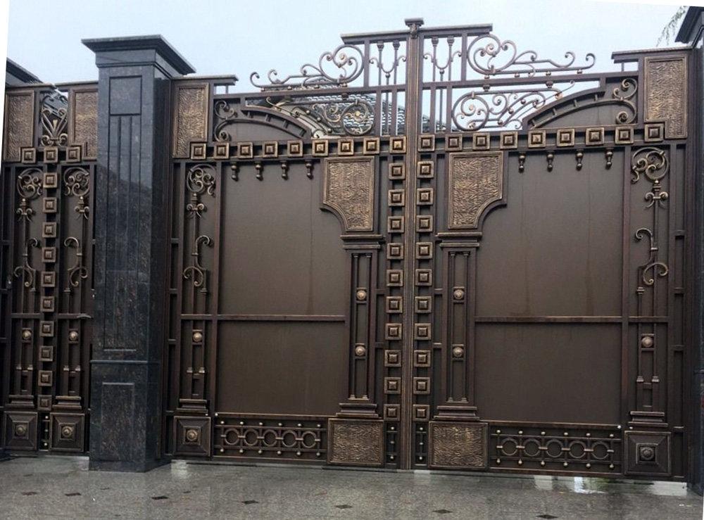 Светлая, картинки красивые ворота и калитки