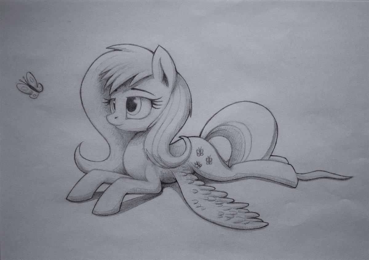 как нарисовать пони картинки карандашом любовь
