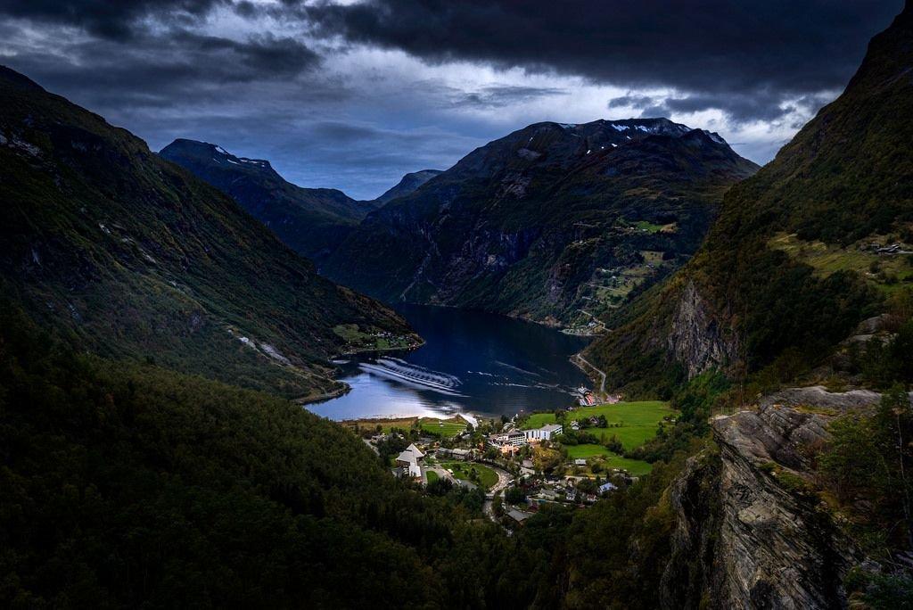 Картинки норвегии фьорды