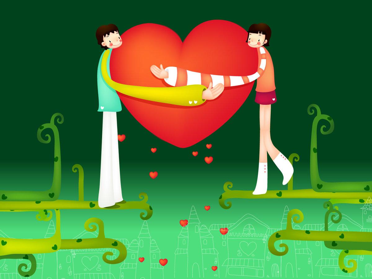 Крика, открытки на любовную тематик