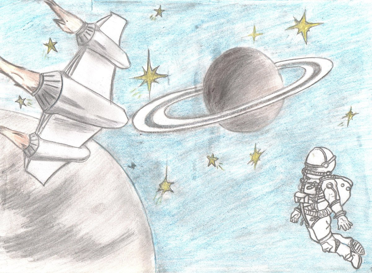 картинки про космос нарисовать канала