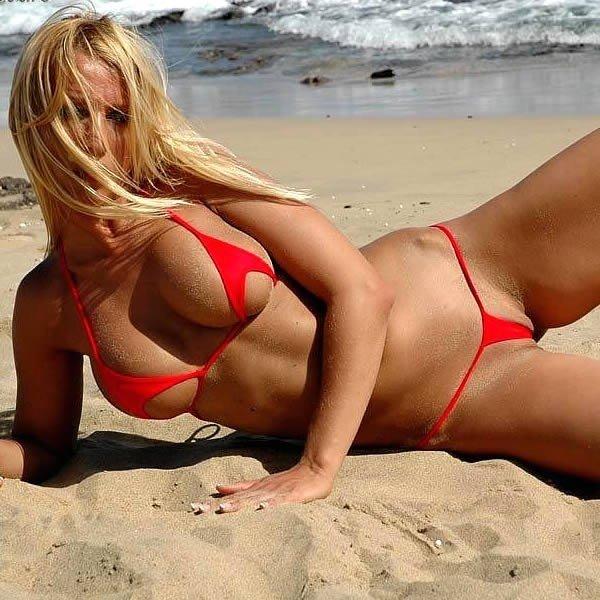фото девушек шокирующих пляж слизь