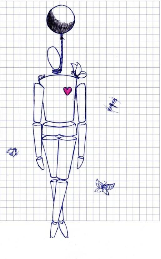 Прикольные рисунки карандашом и ручкой, открытки детские